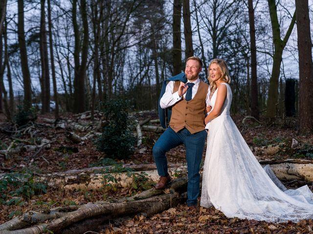 Dan and Jennie's Wedding in Nottingham, Nottinghamshire 45