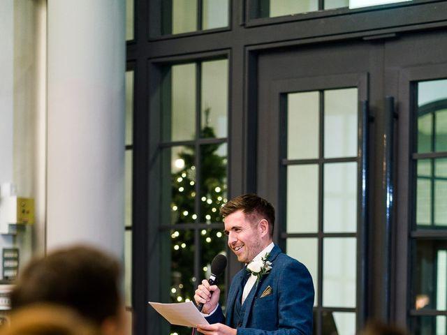 Dan and Jennie's Wedding in Nottingham, Nottinghamshire 67