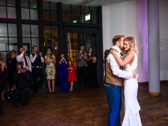 Dan and Jennie's Wedding in Nottingham, Nottinghamshire 85
