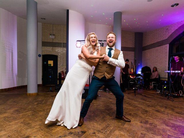 Dan and Jennie's Wedding in Nottingham, Nottinghamshire 86