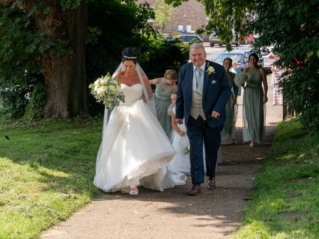 Katie and Philip's Wedding in Scarborough, North Yorkshire 24