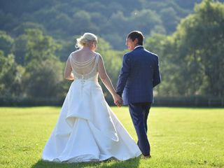 Billy & Sarah's wedding