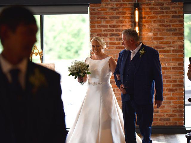 Sarah and Billy's Wedding in Belper, Derbyshire 7