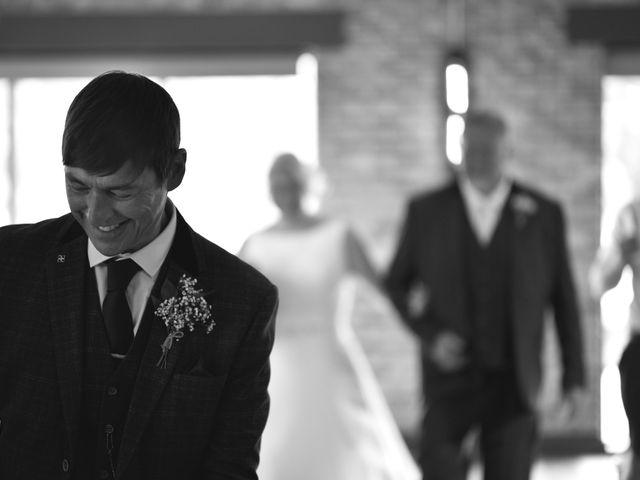 Sarah and Billy's Wedding in Belper, Derbyshire 1