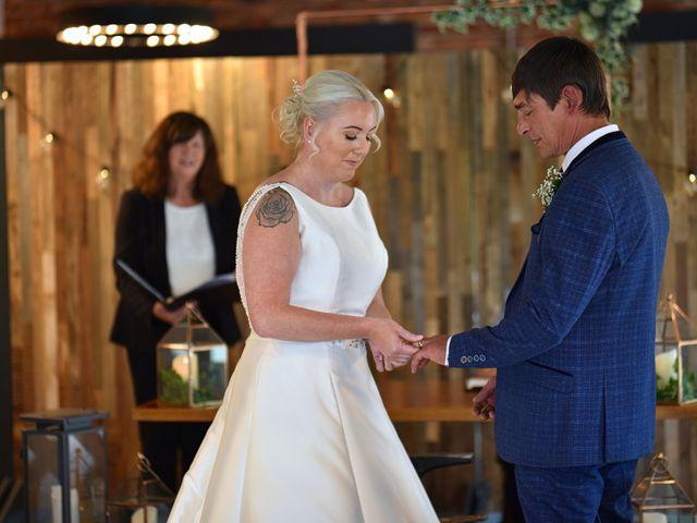 Sarah and Billy's Wedding in Belper, Derbyshire 8