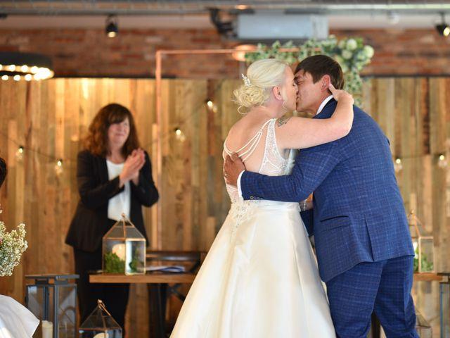 Sarah and Billy's Wedding in Belper, Derbyshire 9