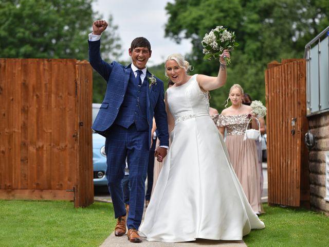 Sarah and Billy's Wedding in Belper, Derbyshire 11