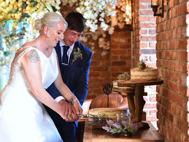 Sarah and Billy's Wedding in Belper, Derbyshire 29