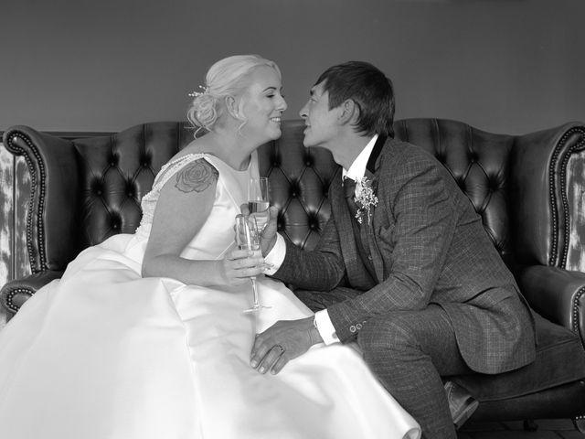 Sarah and Billy's Wedding in Belper, Derbyshire 41