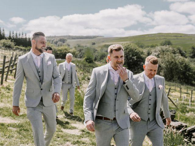 Darren and Katie's Wedding in Huddersfield, West Yorkshire 31