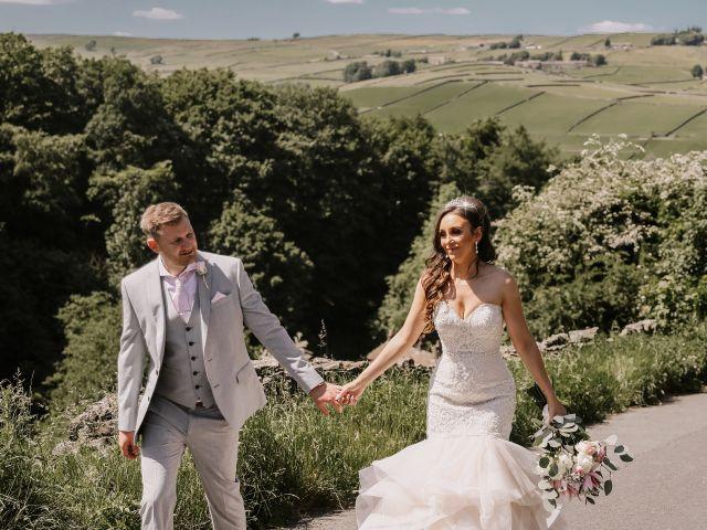 Darren and Katie's Wedding in Huddersfield, West Yorkshire 86