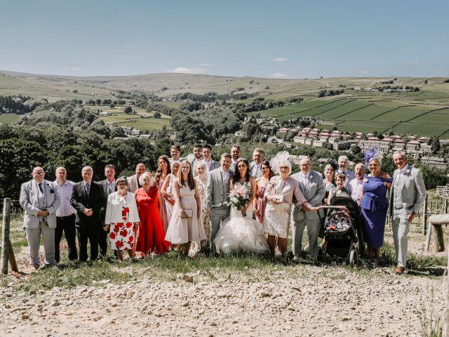 Darren and Katie's Wedding in Huddersfield, West Yorkshire 95