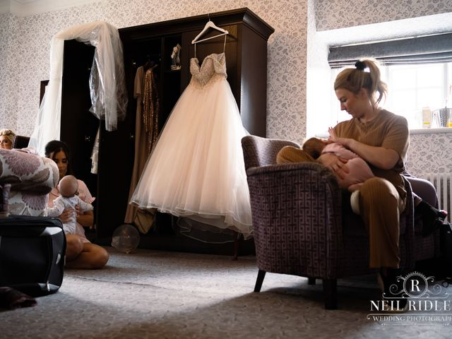 Lee and Holly's Wedding in Mottram St. Andrew, Cheshire 8