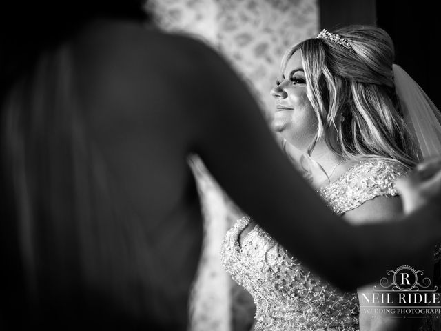 Lee and Holly's Wedding in Mottram St. Andrew, Cheshire 9