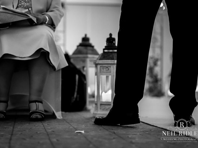 Lee and Holly's Wedding in Mottram St. Andrew, Cheshire 11