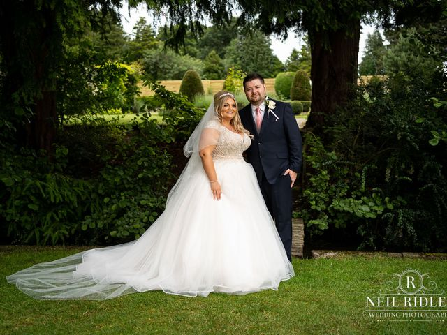 Lee and Holly's Wedding in Mottram St. Andrew, Cheshire 20