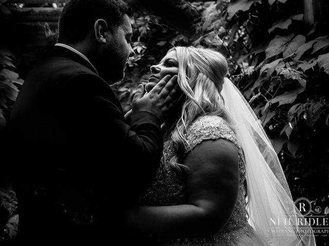 Lee and Holly's Wedding in Mottram St. Andrew, Cheshire 21