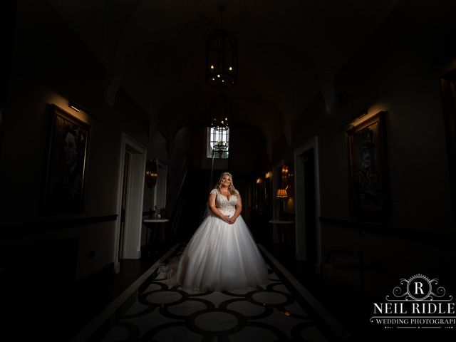Lee and Holly's Wedding in Mottram St. Andrew, Cheshire 2