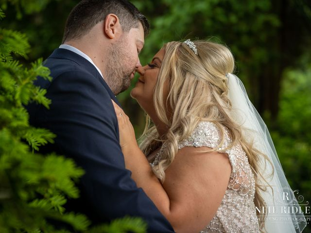 Lee and Holly's Wedding in Mottram St. Andrew, Cheshire 24