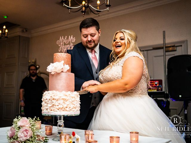 Lee and Holly's Wedding in Mottram St. Andrew, Cheshire 26