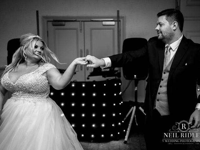 Lee and Holly's Wedding in Mottram St. Andrew, Cheshire 27