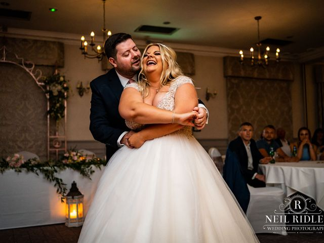 Lee and Holly's Wedding in Mottram St. Andrew, Cheshire 28