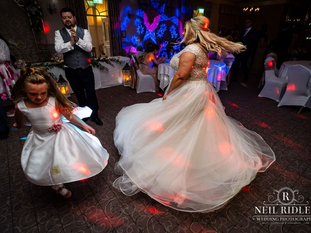 Lee and Holly's Wedding in Mottram St. Andrew, Cheshire 32