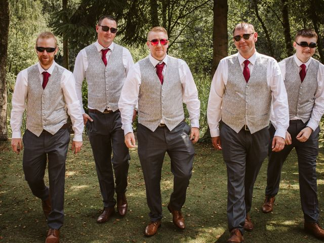 Laura and Duncan's Wedding in Otley, West Yorkshire 9
