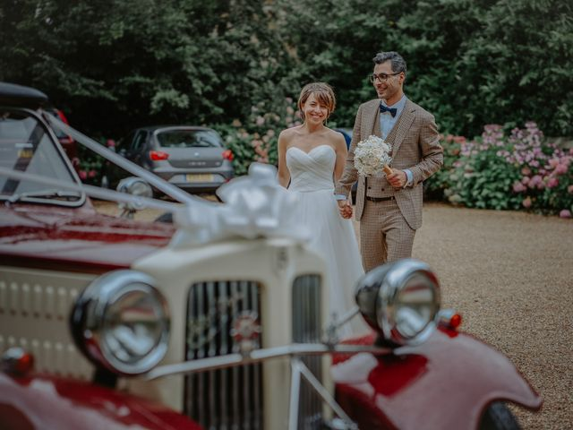 Timea and Bijan's Wedding in Wadhurst, East Sussex 12
