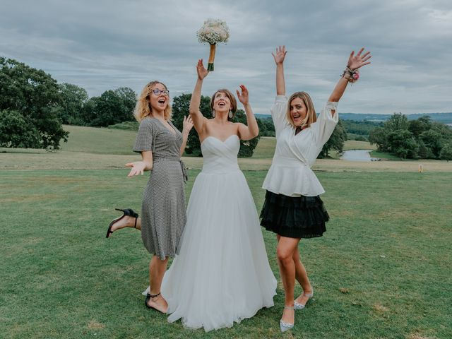 Timea and Bijan's Wedding in Wadhurst, East Sussex 15