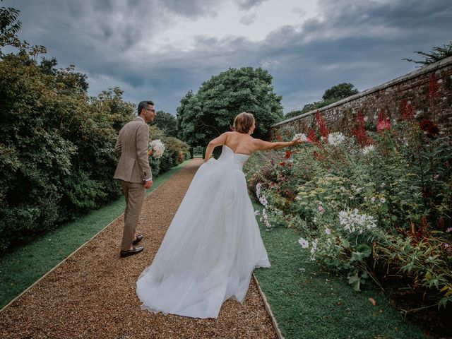 Timea and Bijan's Wedding in Wadhurst, East Sussex 17