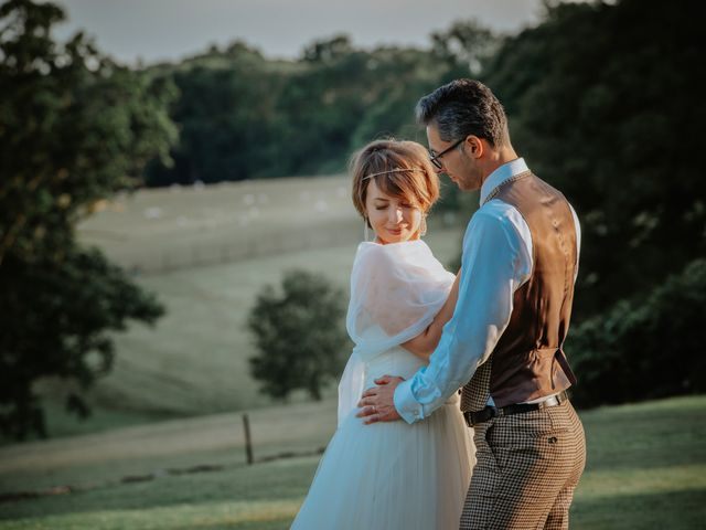 Timea and Bijan's Wedding in Wadhurst, East Sussex 49