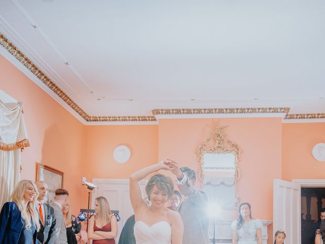 Timea and Bijan's Wedding in Wadhurst, East Sussex 55