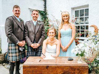 Jenna & Roy's wedding 1