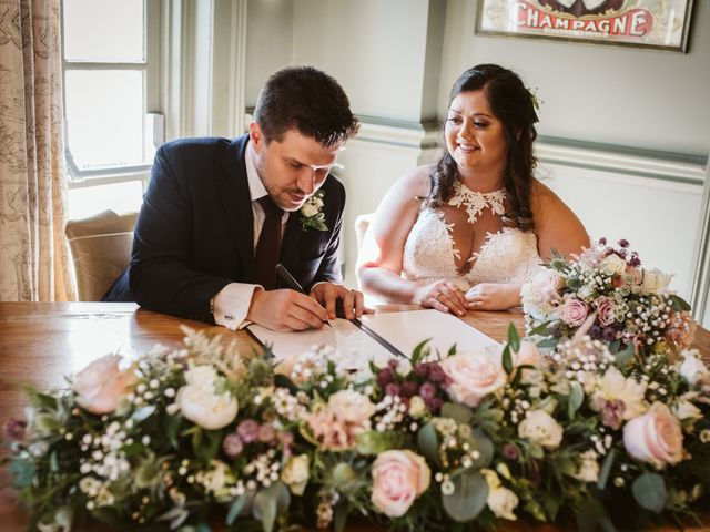 Ben and Sarah's Wedding in Harrogate, North Yorkshire 9