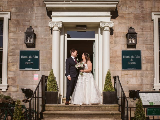 Ben and Sarah's Wedding in Harrogate, North Yorkshire 10