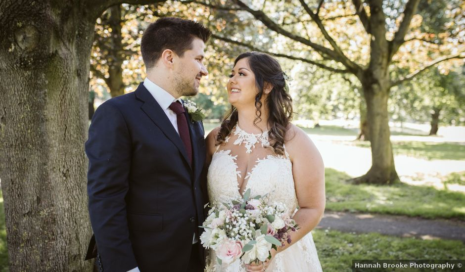 Ben and Sarah's Wedding in Harrogate, North Yorkshire