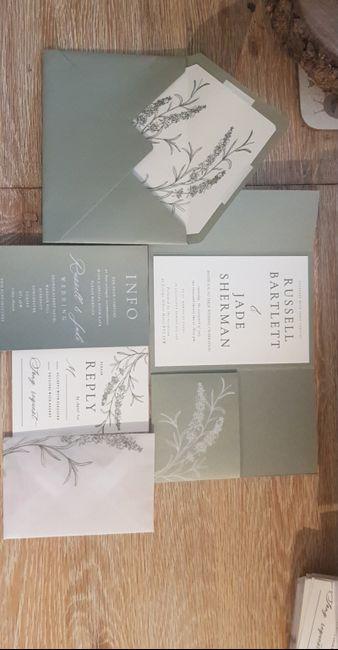 Wedding invitations 💗 1