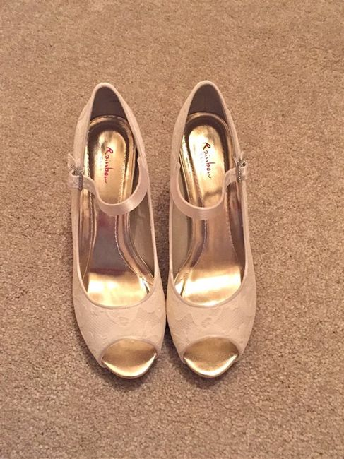 brand new wedding shoes for sale: Nina