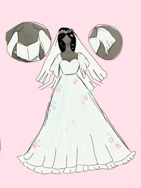 Wedding dress design what do you think? 1