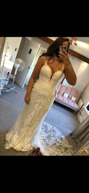 Honest wedding dress opinions 1