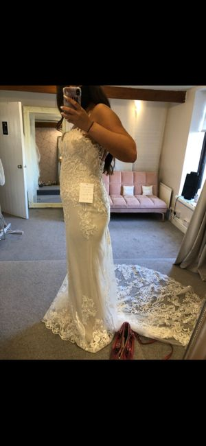 Honest wedding dress opinions 4