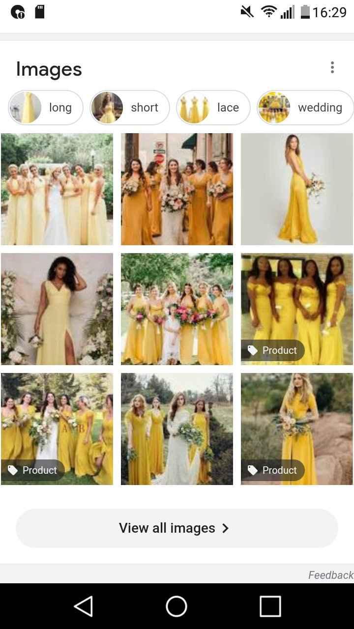 Wedding colour theme 1