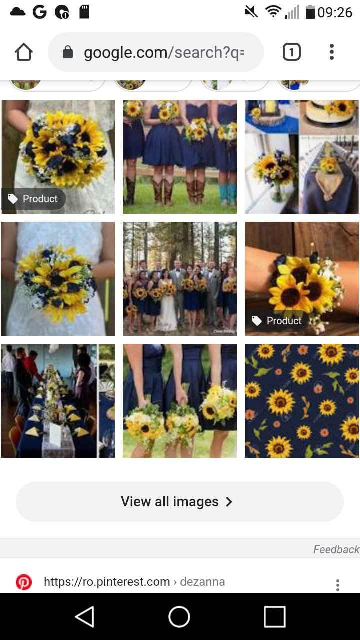 Wedding colour theme 2