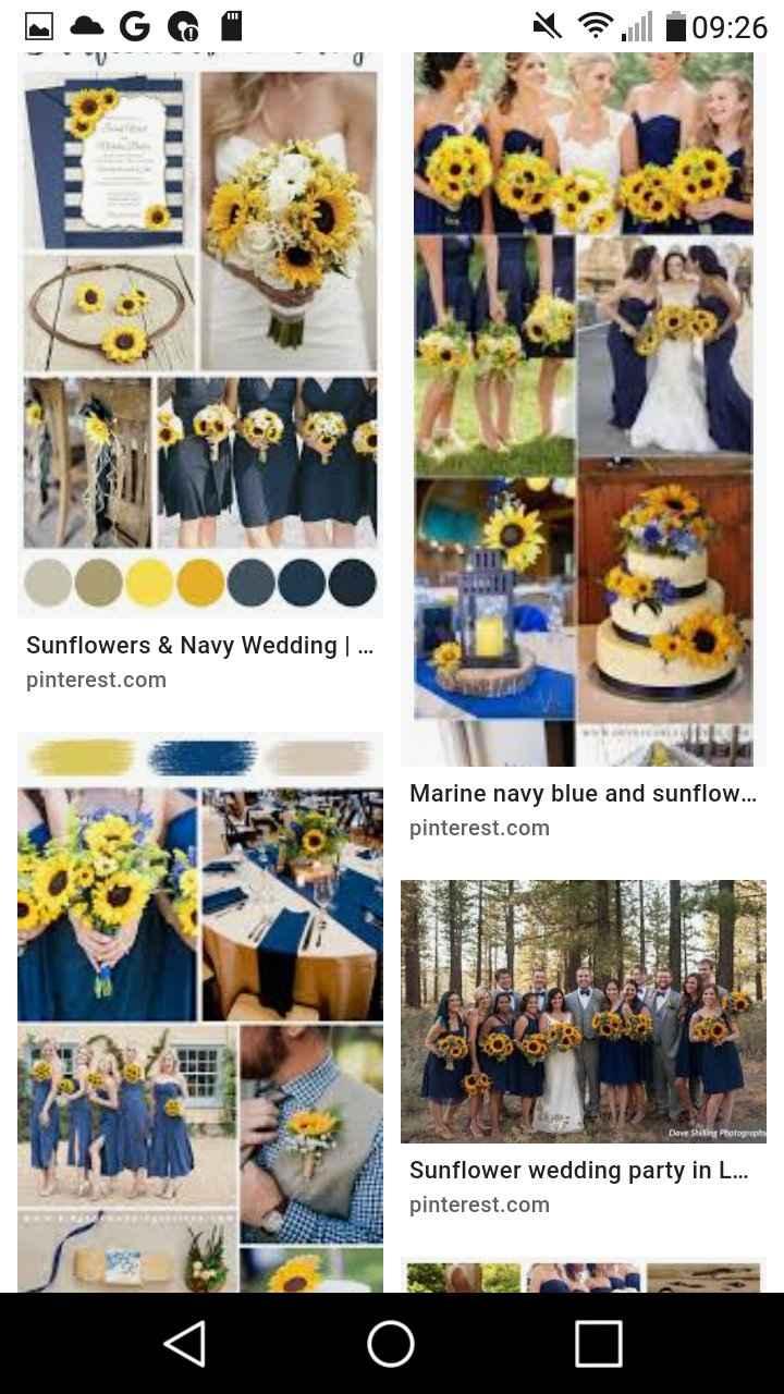 Wedding colour theme 3