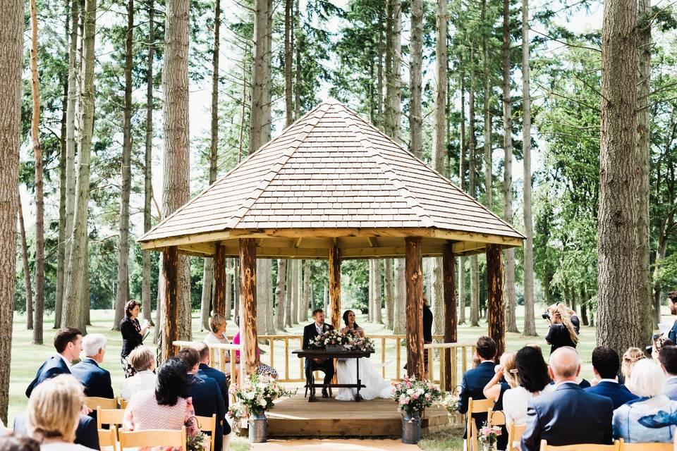 Somerley Woodland Weddings 79