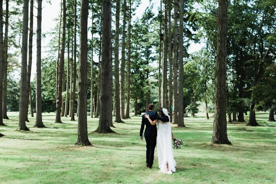 Somerley Woodland Weddings 81