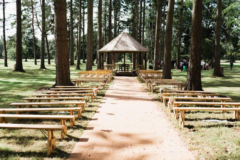 Somerley Woodland Weddings 82