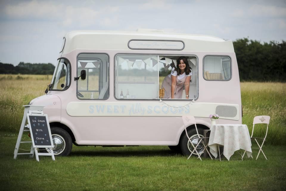 Sweet Ally Scoops - Ice Cream Van