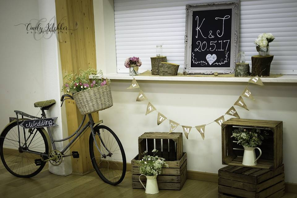Our lovely Bike and Crates